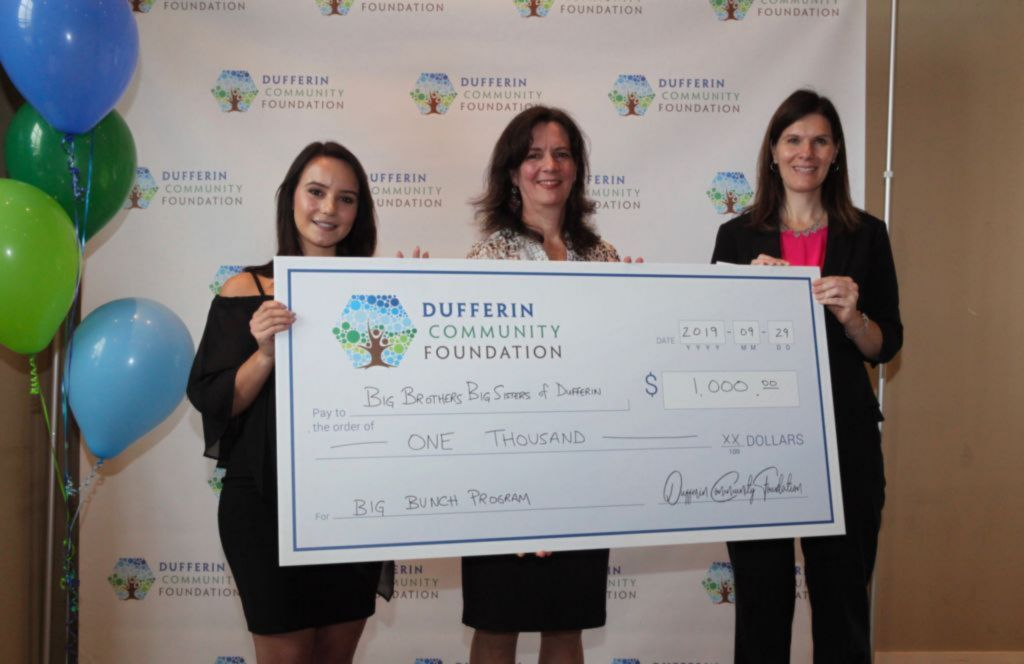 Big Brothers Big Sisters Dufferin Mini Grant recipient